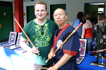Ron Lew, Dacascos Open 2008, Hamburg Wandsbek